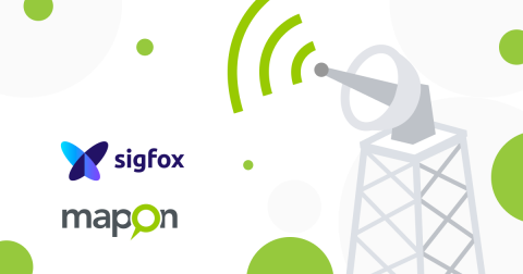 Mapon broadens tracking solution offer with devices that operate in the Sigfox's 0G network